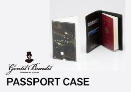 Gentil Bandit パスポートケース